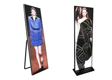 Waterproof  Mirror Led Display , P1.87  Electronic Poster Display USB / WIFI / 4G